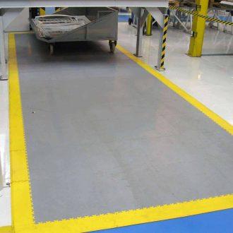 Vyznačte podlahou zóny ve skladech
