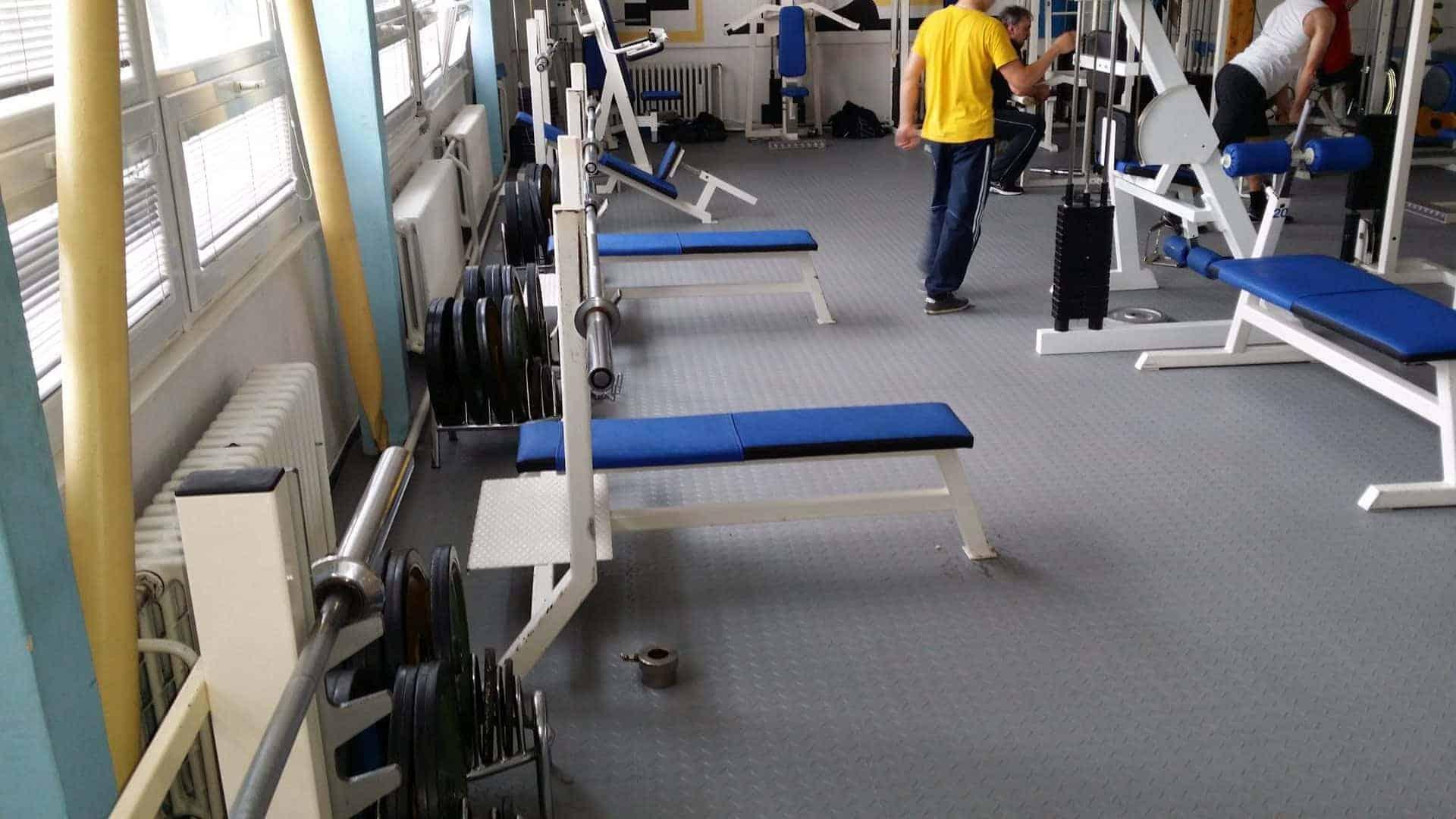 Fitness centrum v Ostravě, Česko
