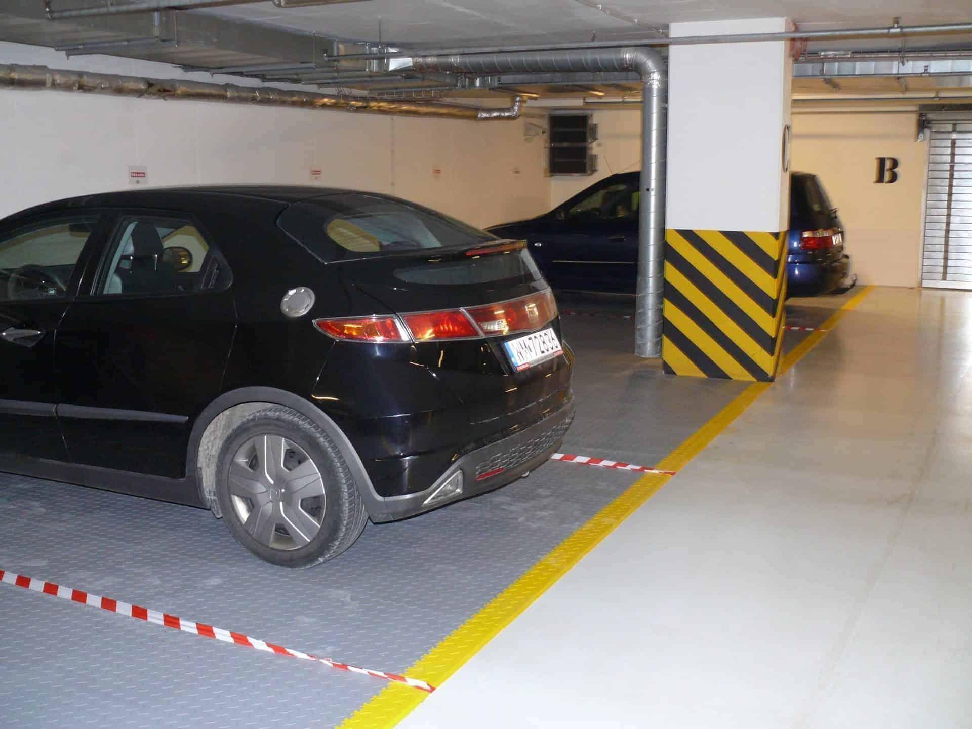 Podzemní garáže, Polsko