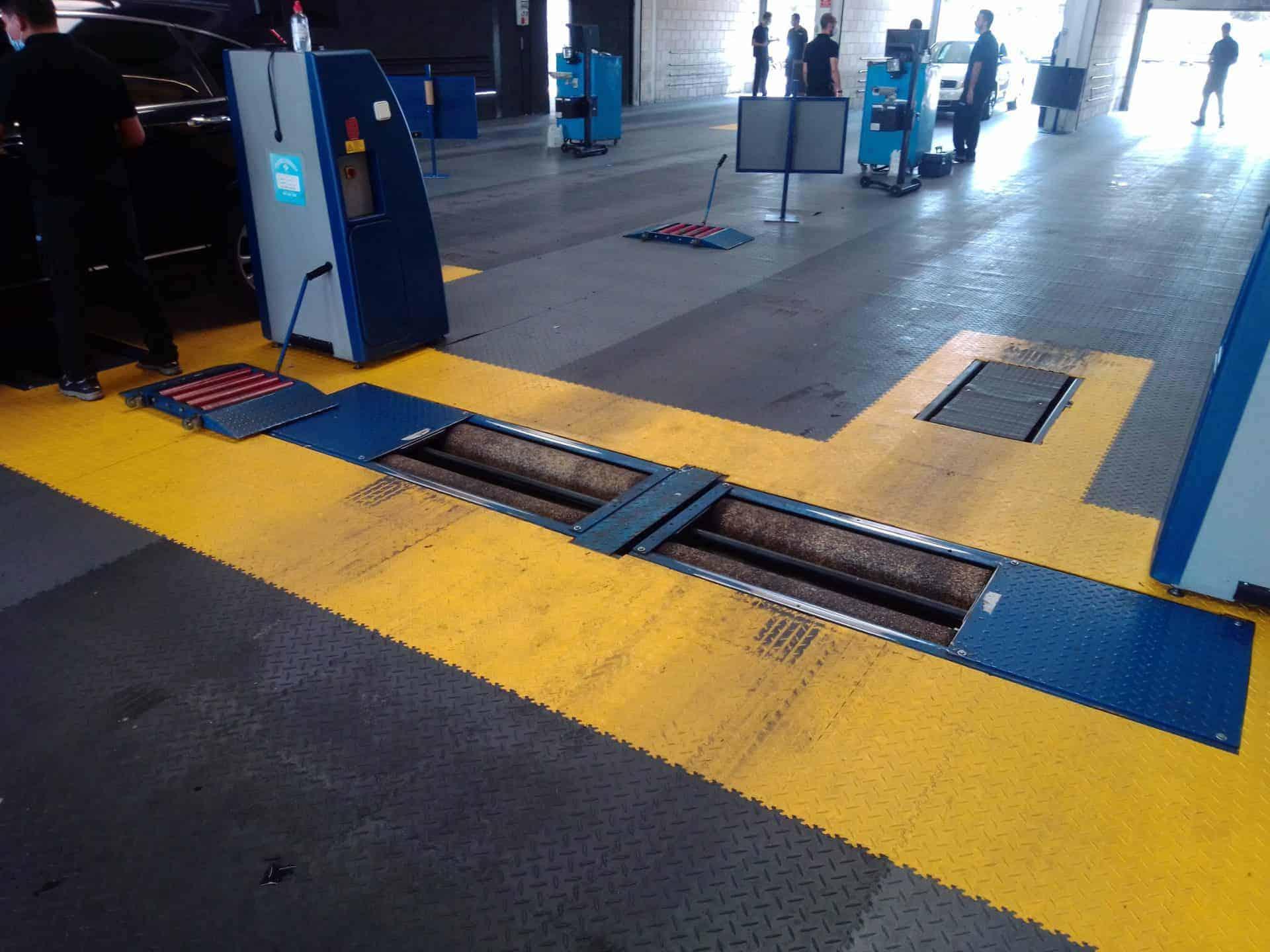 Stanice technické kontroly, Španělsko