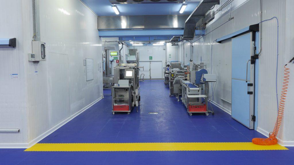 Výrobní hala, Itálie