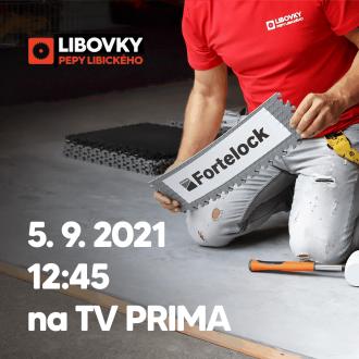 Dlaždice Fortelock v hlavní roli na PRIMA TV